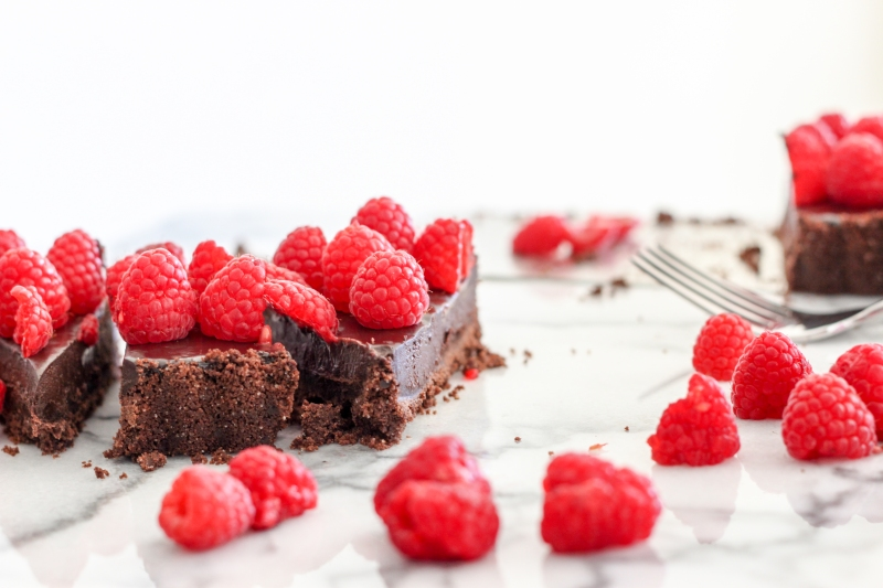 Raspberry Chocolate Tart-2
